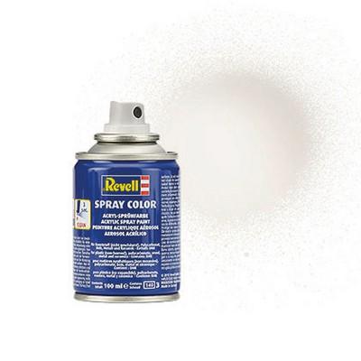 Bombe 100 ml : Vernis blanc brillant - Revell-34104