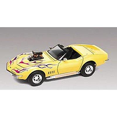 Maquette voiture : Corvette Convertible 2 'n 1 1968 - Revell-85-12544