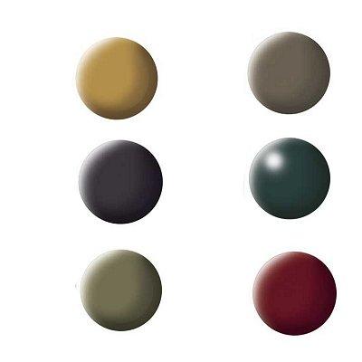 Couleurs militaires : 6 pots - Revell-32341