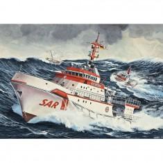 Maquette bateau: DGzRS Hermann Marwede