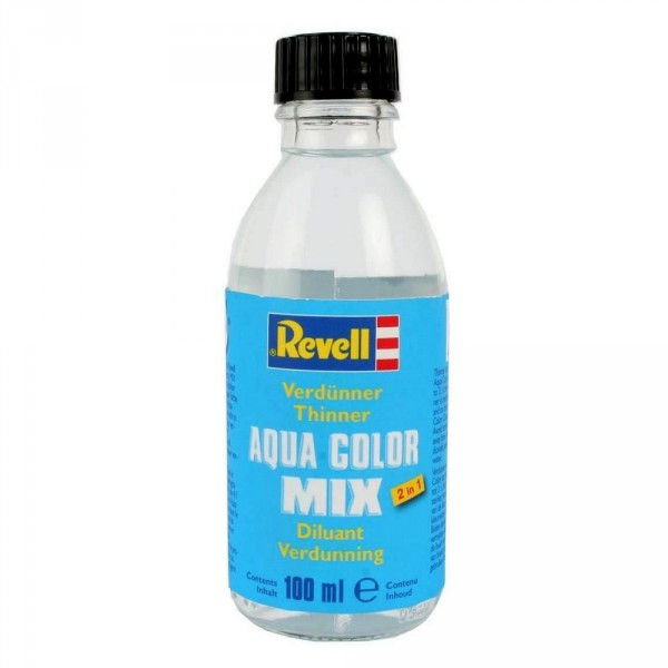 Diluant Aqua Color mix : Flacon de 100 ml - Revell-39621