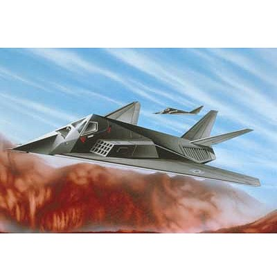 Maquette avion : F-117 Stealth Fighter - Revell-04037