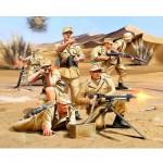 Figurines 2ème Guerre Mondiale : Infanterie allemande Afrika Corps