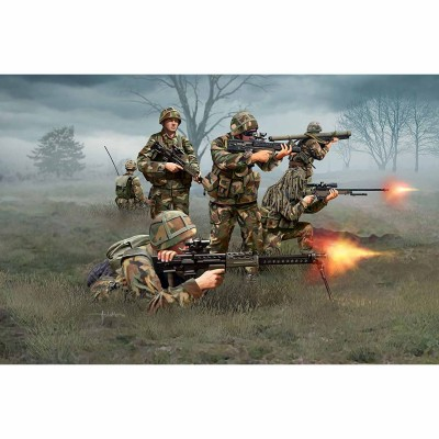 Figurines militaires : Infanterie britannique Moderne - Revell-02519