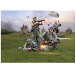 Figurines militaires : Troupe de para allemands
