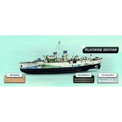 Maquette bateau: Flower Class Corvette: Platinium Edition - Revell-05112