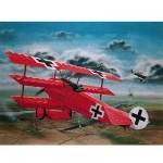 Maquette avion: Fokker Dr.1 Richthofen