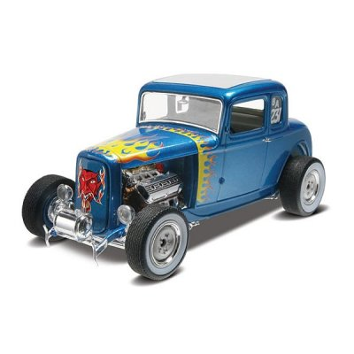 Maquette voiture : Ford 5 Window Coupe  1932 - Revell-85-14228