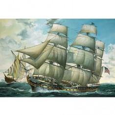 Maquette bateau: Frégate U.S.S. United States