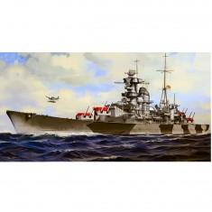 Maquette bateau: German Heavy Cruiser Admiral Hipper
