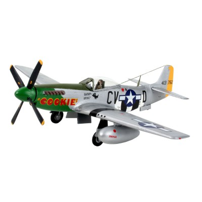 Maquette avion : Model-Set : P-51D Mustang - Revell-64148