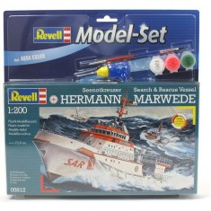 Maquette bateau : Model-Set : DGzRS Hermann Marwede