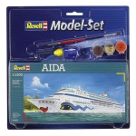Maquette bateau: Model-Set: AIDA