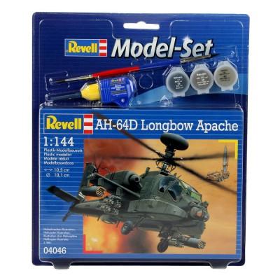Maquette hélicoptère: Model-Set: AH-64D Longbow Apache - Revell-64046