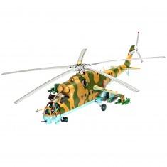 Maquette : Hélicoptère : Mil Mi 24 Hind