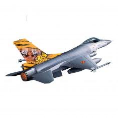 Maquette à assembler : Avion de chasse : Lockheed Martin F-16 Mlu Tigermeet : Echelle 1/144