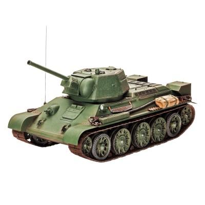 Maquette à assembler : Char : T-34/76 : Echelle 1/35 - Revell-03244