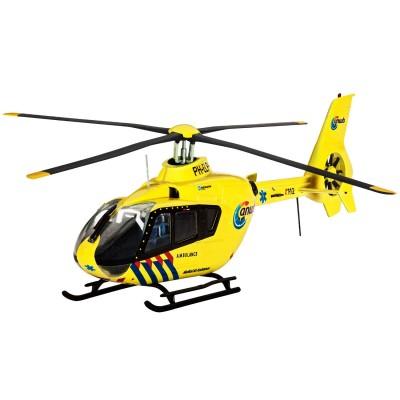 Maquette à assembler : Hélicoptère : Airbus EC135 ANW : Echelle 1/72 Sans