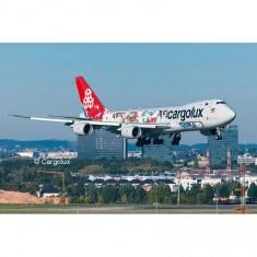Maquette avion : Boeing 747-8F Cargolux Cutaway