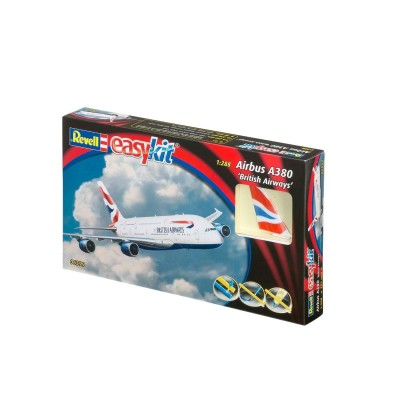 Maquette avion : Easy Kit : Airbus A380 British Airways - Revell-06599