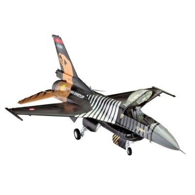 Maquette avion : Model Set : F-16 C Solo TÜRK - Revell-64844