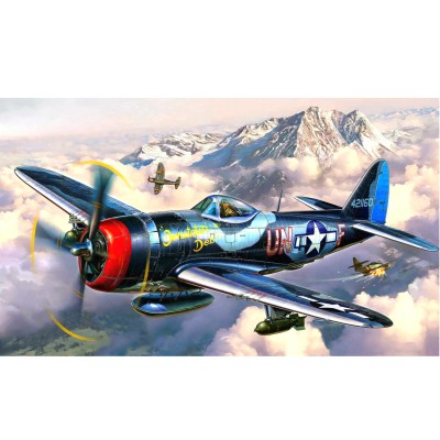 Maquette avion : Model-Set : P-47M Thunderbolt - Revell-63984