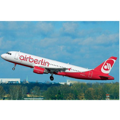 Maquette avion : Model Set Airbus A320 AirBerlin - Revell-64861