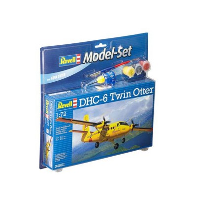 Maquette avion : Model Set DHC-6 Twin Otter - Revell-64901