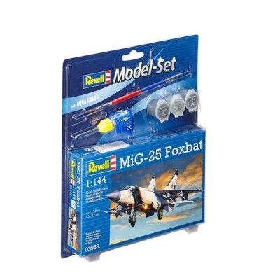Maquette avion : Model Set MiG-25 Foxbat - Revell-63969