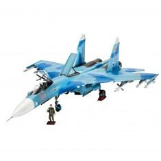 Maquette avion : Model Set Sukhoi Su-27 SM Fla