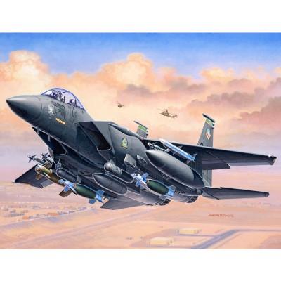 Maquette Avion Militaire : F-15E Strike Eagle & Bombs - Revell-03972
