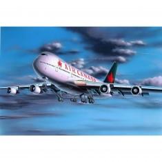 Maquette avion: Model-Set: Boeing 747-200 Air Canada