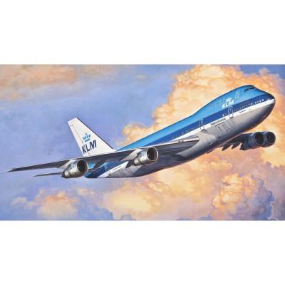 Maquette avion: Model-Set: Boeing 747-200 KLM - Revell-63999
