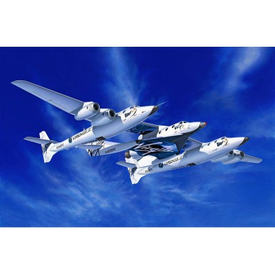 Maquette avion spatial : Model-Set : Spaceshiptwo & whiteknighttwo - Revell-64842