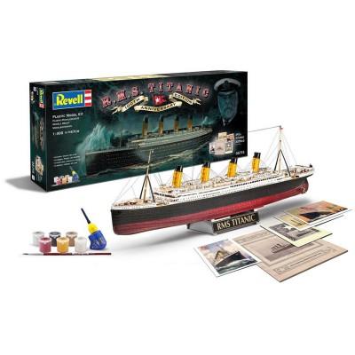 Maquette bateau : Coffret Cadeau : R.M.S. Titanic 100th Anniversary Edition - Revell-05715