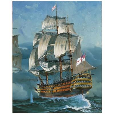 Maquette bateau : Coffret Cadeau Battle of Trafalgar - Revell-05767