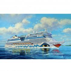 Maquette bateau : Cruiser Ship AIDAblu, AIDAsol, AIDAmar, AIDAstella