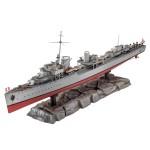 Maquette bateau : Destroyer allemand 1936