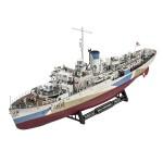 Maquette bateau : Flower Class Corvette HMCS Snowberry