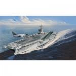 Maquette bateau : Porte-avions U.S.S. Nimitz CVN-68