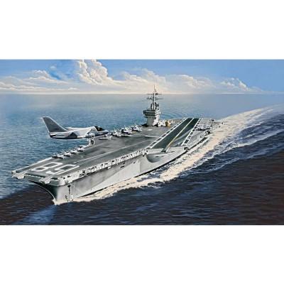 Maquette bateau : Porte-avions U.S.S. Nimitz CVN-68 - Revell-05130