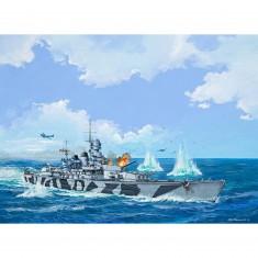 Maquette bateau : RN Roma