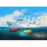 Maquette bateau : Titanic Searcher Le Suroît