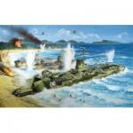 Maquette bateau : U.S.Navy Landing Ship LSM-210 Medium