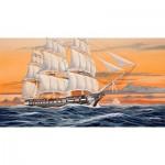 Maquette bateau : U.S.S. Constitution