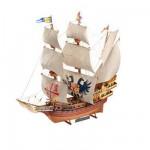 Maquette bateau 306 pièces: Galion espagnol