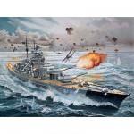 Maquette bateau: Cuirassé  Bismarck