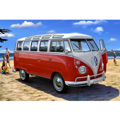 Maquette bus : Model-Set : VolksWagen T1 Samba Bus - Revell-67399