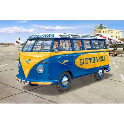 Maquette bus : VW T1 Samba Bus Lufthansa - Revell-07436