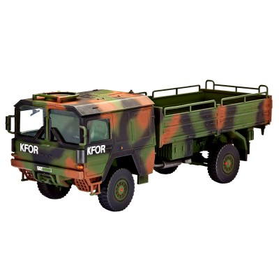 Maquette camion 4x4 LKW 5t.mil gl - Revell-03300